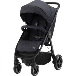 Britax B-Agile M (Black Shadow) - bäst i test budget barnvagn