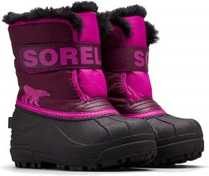 Sorel Children's Snow Commander Vinterkänga, Purple Dahlia
